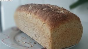 Pan fácil de avena
