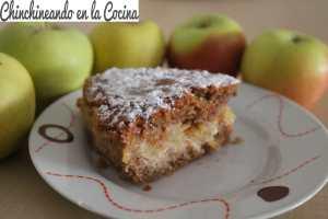 Pastel de manzanas sueco