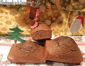 Mini bizcochos con sabor a navidad