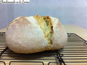 Hogaza de pan casero