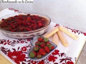Tiramisú de frutos rojos