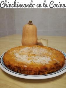 Pastel salado de calabaza