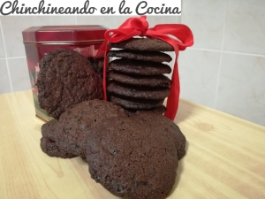 Cookies de chocolate y café