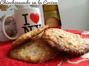 Cookies con cubitos de almendra y chocolate