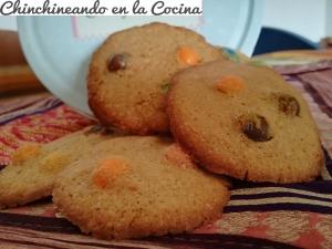Cookies de m&m`s